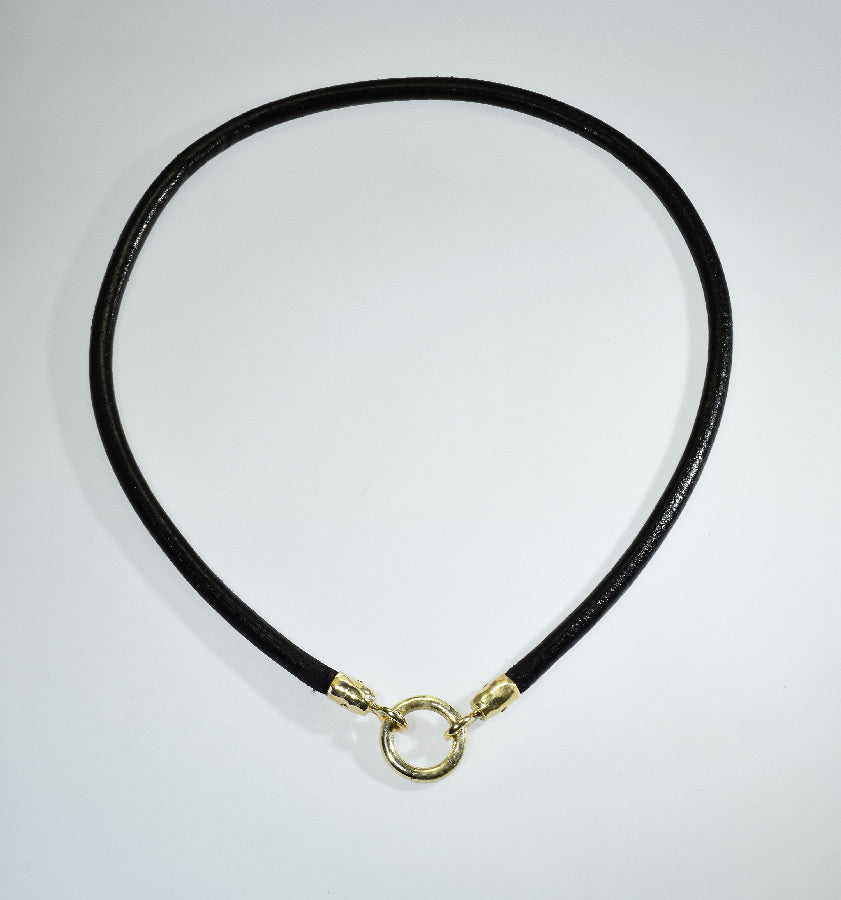 The Leather Cord Necklace