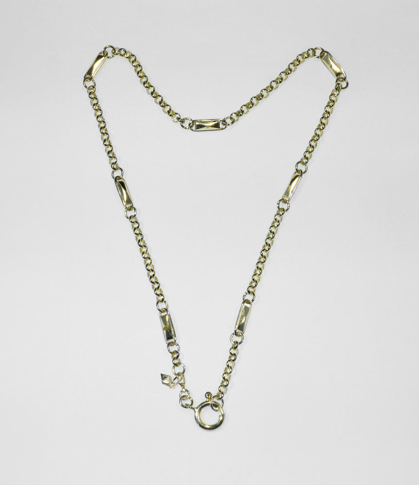 FACET LINK CHAIN NECKLACE