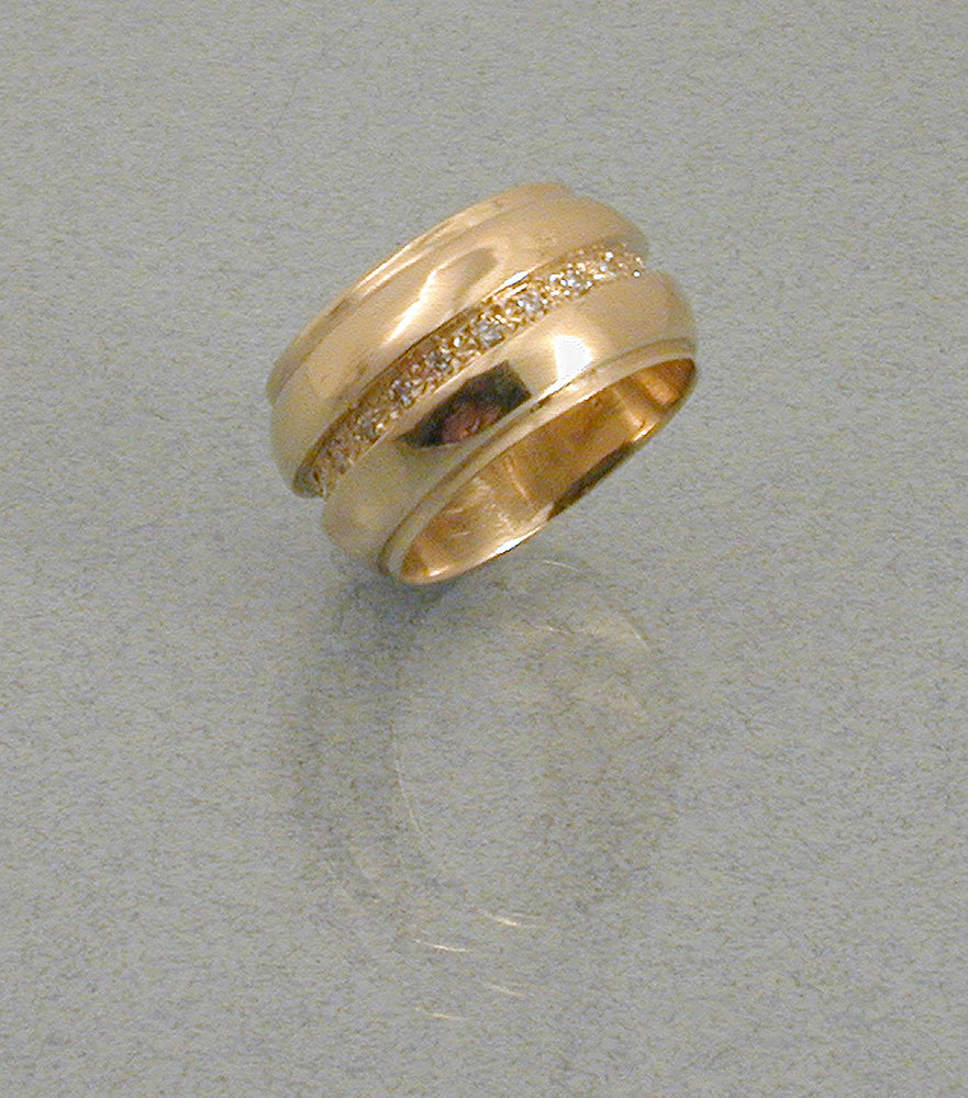 "Commission: MARTHA'S ""BARREL"" RING"