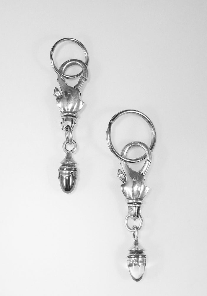 SWIVEL LOCK KEYCHAIN
