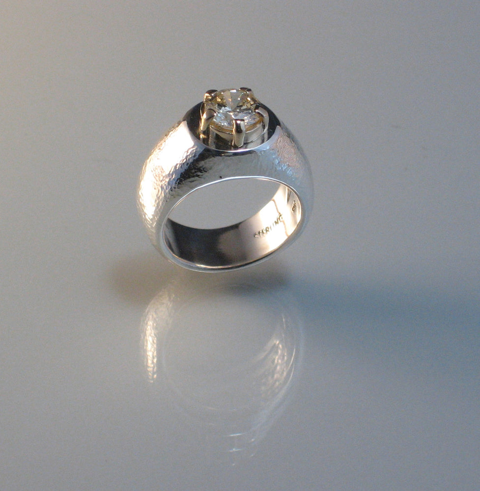 Commission: DIAMOND PRONG RING