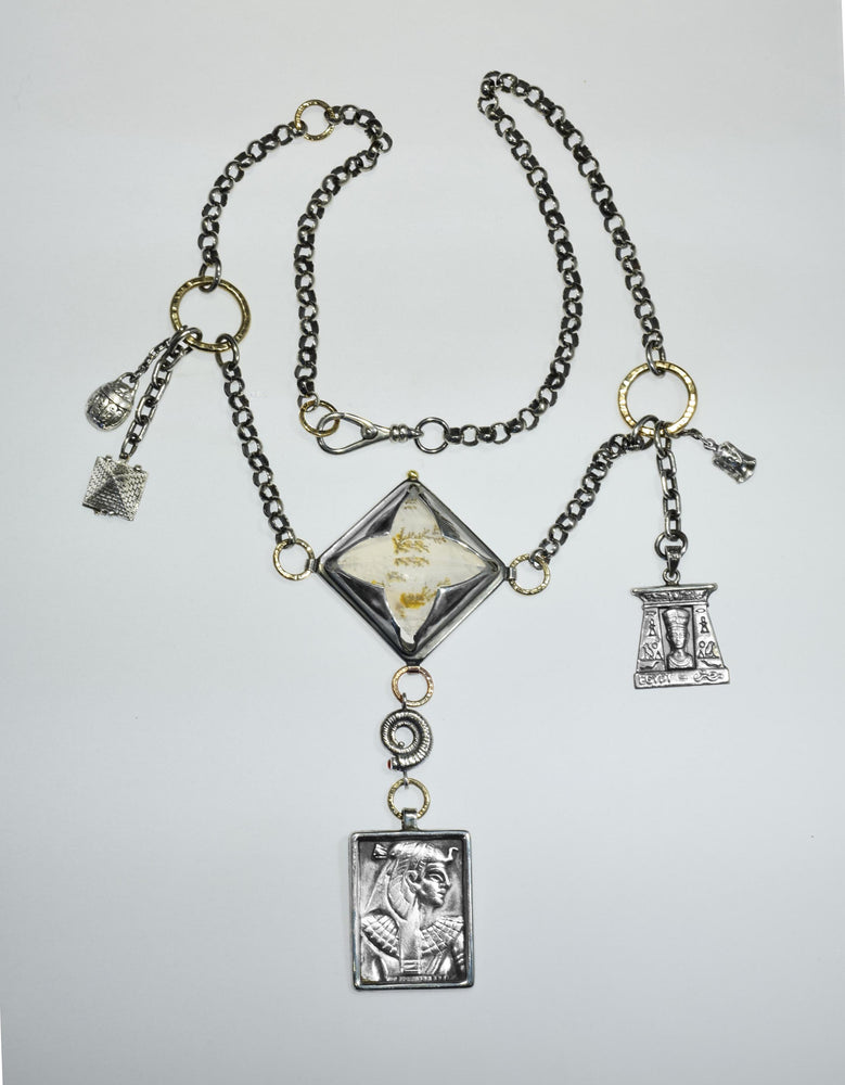 Egyptian Charm Necklace