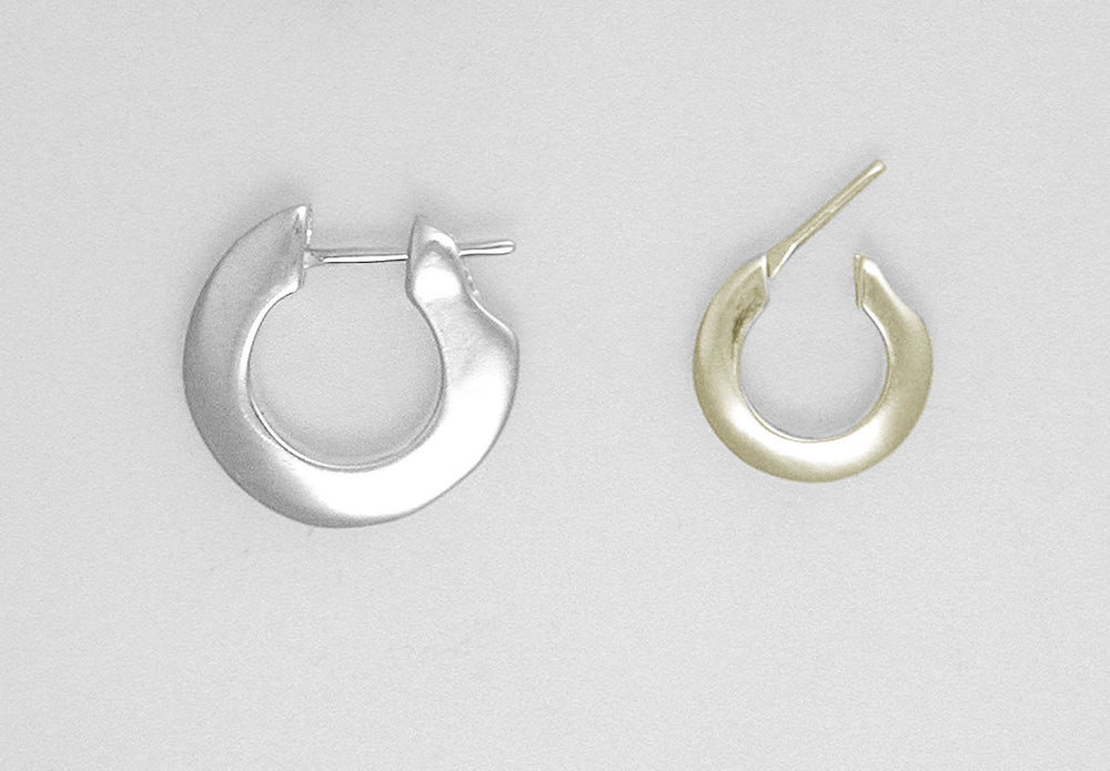 PIRATE HOOP EARRINGS - PLAIN