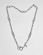 Filagree Detachable Charm Necklace