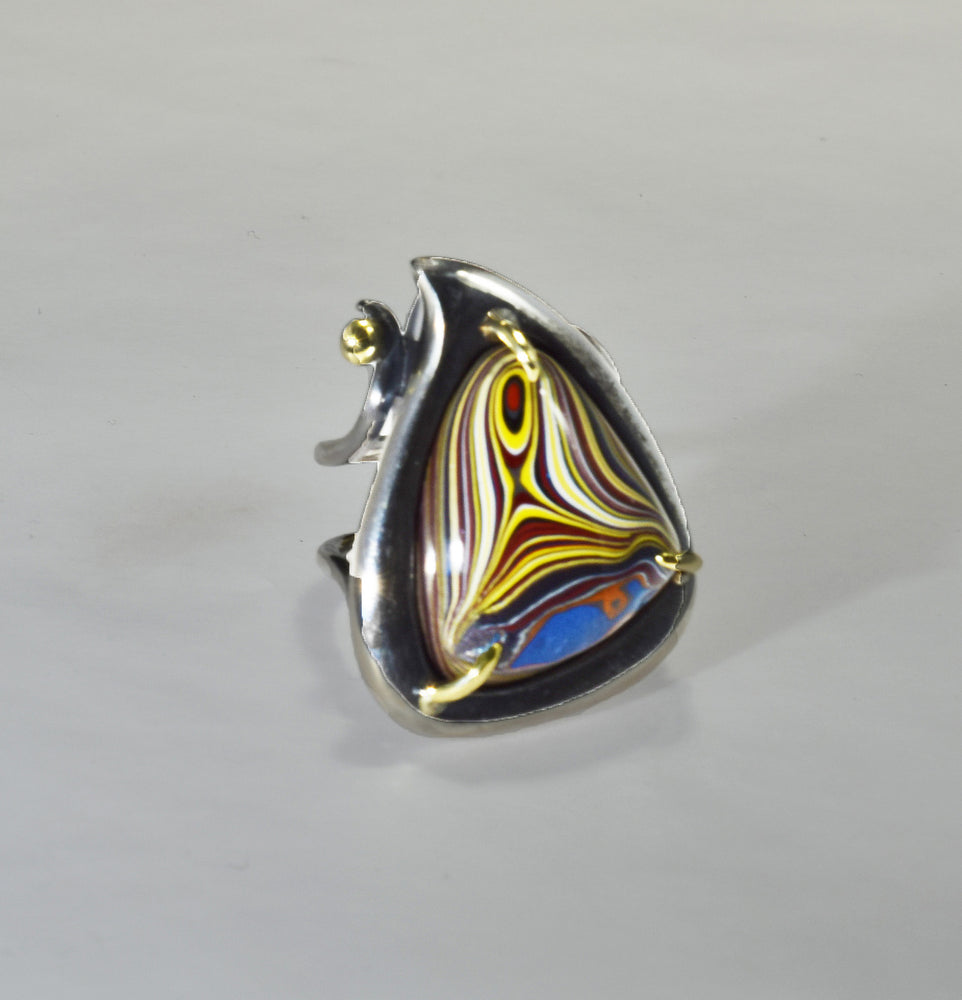 Trillion Fordite Ring