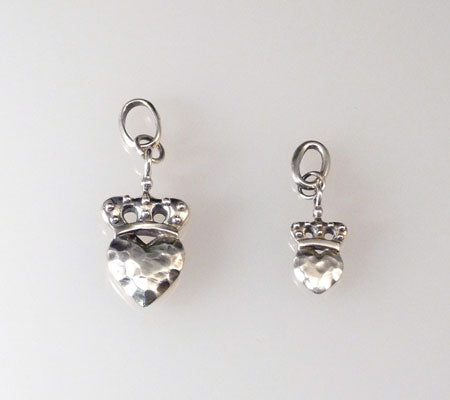 CROWNED HEART CHARM