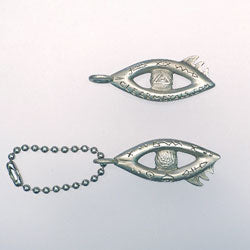 Eye-of-God-keychain-Barbara-Klar-Clear-Metals