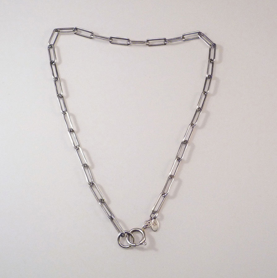 RECTANGULAR LINK NECKLACE