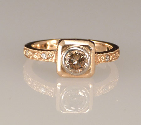 Champagne-Diamond-Platform-Ring-Commitment-Bands