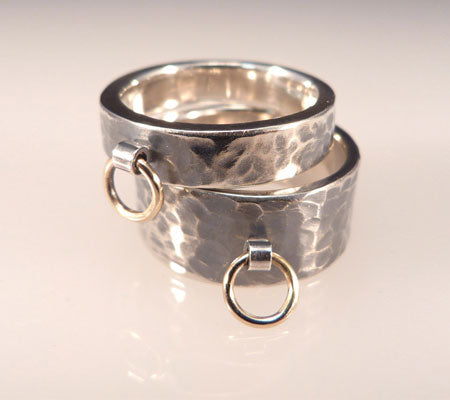 TETHER BANDS - STERLING SILVER