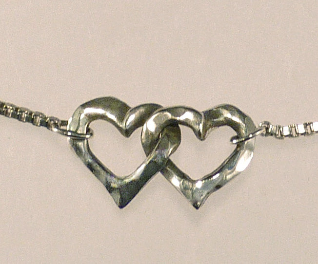 Interlocking Hearts Necklace