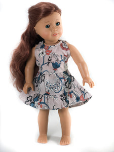 "The Ruffle Pinafore for 18"" Dolls"