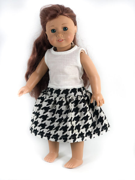 "The Ophelia Top & Ella Skirt for 18"" Dolls 