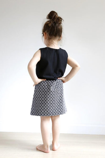 The Mini Lattice Shift (Black)