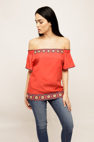 Anne Off-the-Shoulder Top