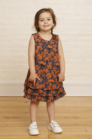 The Emiline Girls' Ruffle Dress
