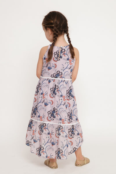 The Mini Songbird Dress | Enchanted Garden Print