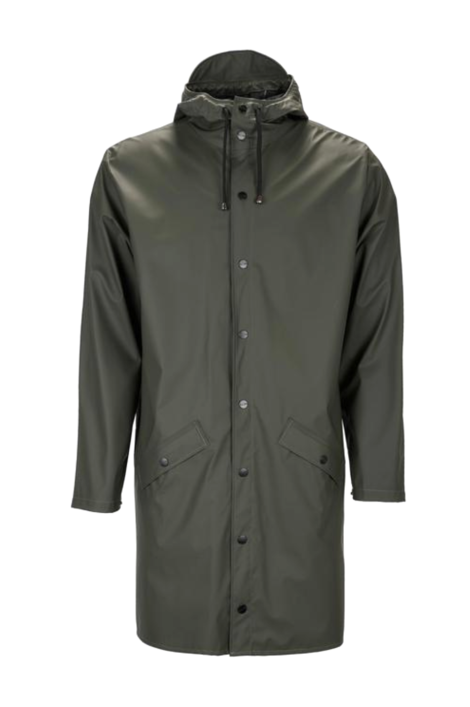 Green Long Rain Jacket