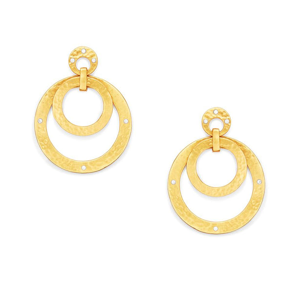 Crescent Statement Earrings