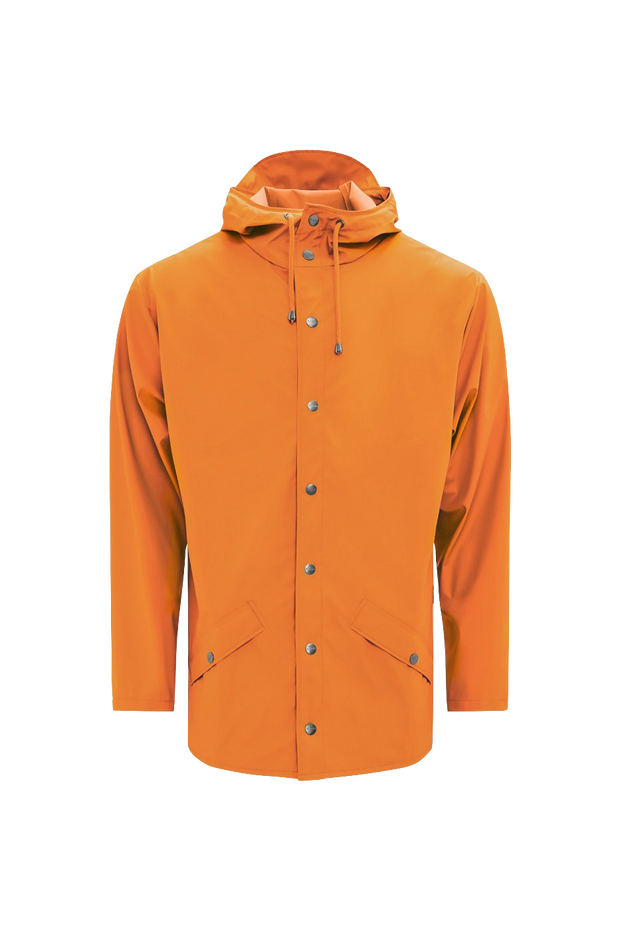 Fire Orange Rain Jacket