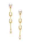 Clara Double Stone Earring