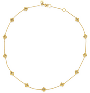 Florentine Demi-Delicate Necklace Gold 16-17 in.