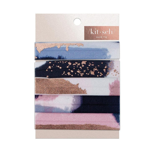 Kitsch Paint Strokes Hair Tie Set