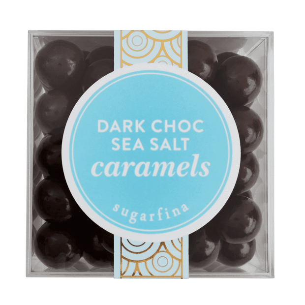 Dark Chocolate Sea Salt Caramels (Large)
