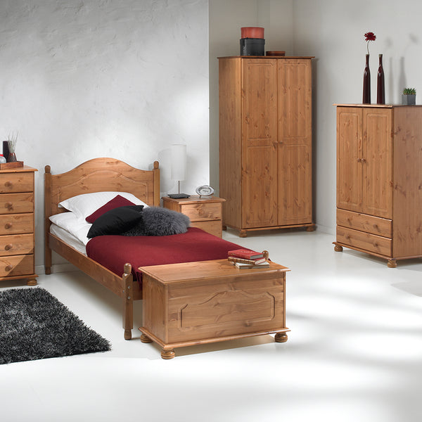 copenhagen pine complete range in bedroom setting by furniture to go