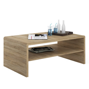 sonoma oak coffee table by furniture to go
