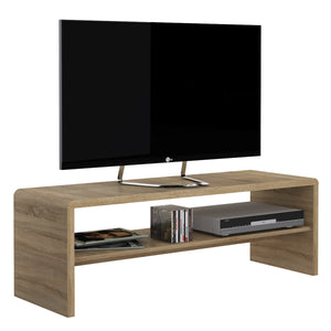 sutton sonoma oak widescreen tv unit at gofurn kent