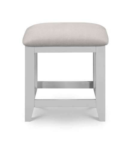 bowen grey dressing table stool at gofurn maidstone kent