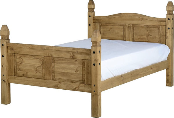 corona pine three quarter bed with ortho mattress