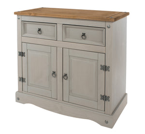 corona grey wash small sideboard at gofurn in kent