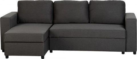 dora sofa bed in grey fabric with sofabeds at gofurn store in kent