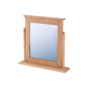 COSTWOLD PINE DRESSING TABLE MIRROR by core products