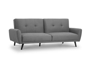 monza grey sofabed by julian bowen
