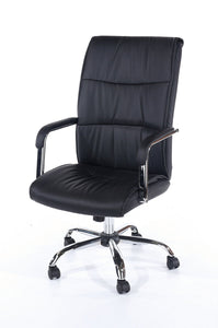 Alpha High Back Black Office Chair-Office Chair-core products-GoFurn Furniture Store Kent