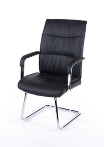Alpha Visitor Reception Chairs Priced per Pair-office reception visitor chairs-core products-GoFurn Furniture Store Kent