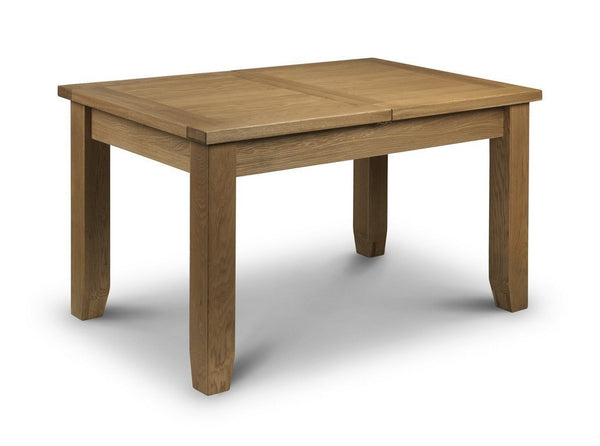 Astoria Oak Dining Table Extending-oak extending dining tables-Julian Bowen-GoFurn Furniture Store Kent