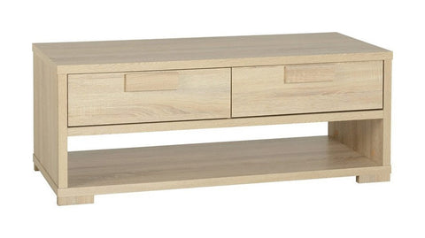 Cambourne 2 Drawer Coffee Table-Coffee Table-Seconique-GoFurn Furniture Store Kent