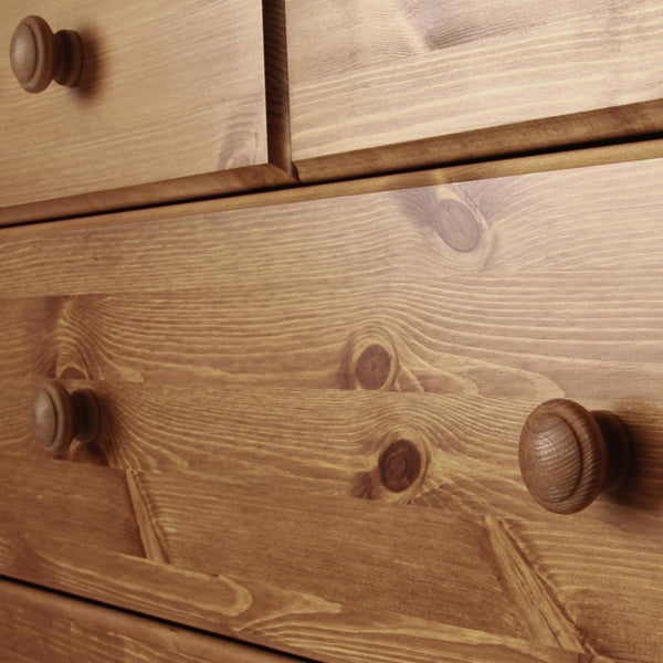 Copenhagen Pine 2+4 Deep Drawer Chest of Drawers-Pine Chest of Drawers-furniture to go-GoFurn Furniture Store Kent