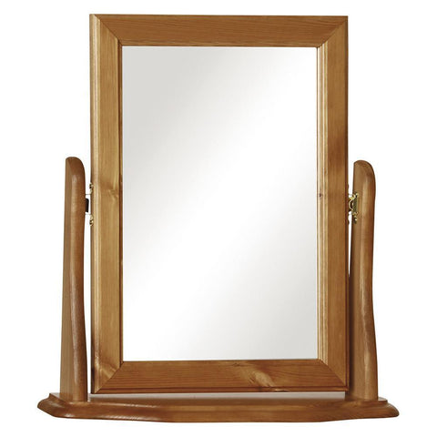 Copenhagen Pine Dressing Table  Mirror by furniture to go at GoFurn Furniture Store Kent