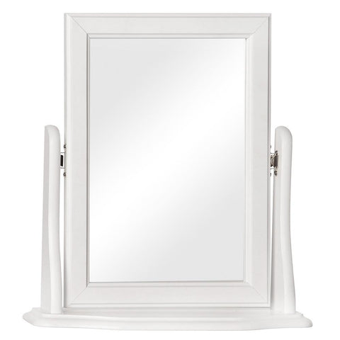 Copenhagen Solid White Mirror-Bedroom mirror-furniture to go-GoFurn Furniture Store Kent