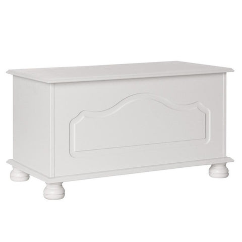 Copenhagen White Blanket Box-white Chest Of Drawers-furniture to go-GoFurn Furniture Store Kent