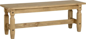 Corona Pine 4 Foot Bench-corona pine bench-Seconique-GoFurn Furniture Store Kent