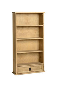Corona Pine DVD Rack-Bookcases-Seconique-GoFurn Furniture Store Kent
