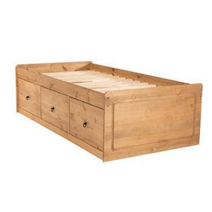 Cotswold Pine Cabin Bed-Single Beds by core products at GoFurn Furniture Store Kent
