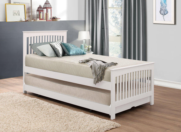 Courtdale Guest Bed White Stowaway 2 in 1-guest bed 2 in 1 stowaway bed-GoFurn-GoFurn Furniture Store Kent