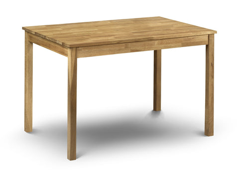 Coxmoor Oak Dining Table-oak dining table-Julian Bowen-GoFurn Furniture Store Kent